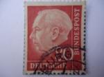 Sellos de Europa - Alemania -  THEODOR HEUSS (1884-196)