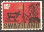 Sellos del Mundo : Africa : Swazilandia : FIESTA  DE  LOS PRIMEROS  FRUTOS