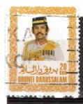 Sellos del Mundo : Asia : Brunei : serie básica