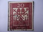 Sellos de Europa - Alemania -  1000 Años del Nacimiento de los Obispos San Bernald y San Godehard