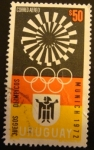 Sellos del Mundo : America : Uruguay : Olimpiadas Múnic 1972