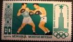 Sellos del Mundo : Europa : Rusia : Mongolia. Olimpiadas Moscú 1980. Boxeo