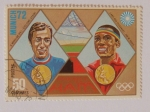 Sellos del Mundo : America : Haití : Olimpiadas Múnic 1972