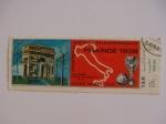 Sellos del Mundo : Asia : Emiratos_Árabes_Unidos : YAR. Campeonato del mundo de fútbo Francia 1938