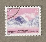 Sellos del Mundo : Asia : Nepal : Mt Everest