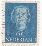 Sellos del Mundo : Europa : Holanda : Reina Juliana Regina