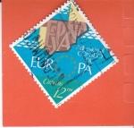 Sellos de Europa - España -  Adhesión Consejo de Europa   (X)