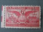 Sellos de America - Estados Unidos -  ALEXANDRIA, VIRGINIA, BICENTENNIAL