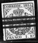 Sellos del Mundo : Europa : España : Escudo con fondo blanco