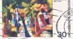 Sellos de Europa - Alemania -  PINTURA DE AUGUST MACKE 1887-1914