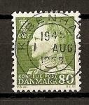 Sellos de Europa - Dinamarca -  Federico IX.