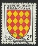 Sellos de Europa - Francia -  ESCUDOS PROVINCIAS  - ANGOUMOIS