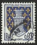 Sellos del Mundo : Europa : Francia : ESCUDOS PROVINCIAS  - NIORT