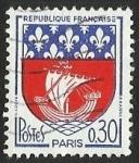 Sellos del Mundo : Europa : Francia : ESCUDOS PROVINCIAS  - PARIS