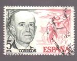 Sellos del Mundo : Europa : España : Manuel de Falla- Cent. nacimiento