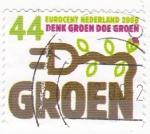 Sellos de Europa - Holanda -  Energía Ecológica