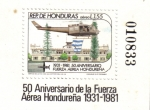 Sellos del Mundo : America : Honduras : Aniversario de la FAH 1931-1981