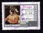 Sellos del Mundo : America : Nicaragua : Grandes Cantantes de Opera