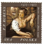 Sellos del Mundo : Europa : Polonia : Pinturas del pintor flamenco Peter Paul Rubens (1577-1640)