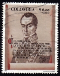 Sellos del Mundo : America : Colombia : Simón Bolívar