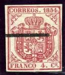 Sellos del Mundo : Europa : España : Escudo de España. Papel Delgado