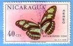 Sellos del Mundo : America : Nicaragua : Metamorpho Dido
