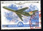 Sellos del Mundo : Europa : Rusia : Aviación Comet Tipo154