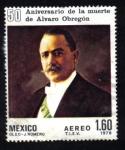 Sellos del Mundo : America : México : Aniversario de la Muerte de Alvaro Obregón