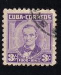 Sellos del Mundo : America : Cuba : Patriotas: JOSE DE LA LUZ CABALLERO
