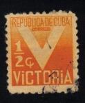 Sellos del Mundo : America : Cuba : Impuesto de victoria obligatorio para el Fondo de la Cruz Roja
