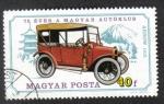 Sellos de Europa - Hungría -  75 Años del Auto Club Hungaro