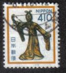Sellos del Mundo : Asia : Japón :  Lady Maya, Horyu-ji, Nara