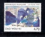 Sellos del Mundo : Europa : Francia : Zao Wou-ki