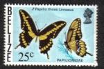Sellos del Mundo : America : Belice : Papilio Thoas Linnaeus