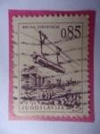 Sellos de Europa - Yugoslavia -  Drvna Industrija. Industria Maderera-Transporte de Madera - Ingeniería y Arquitectura.