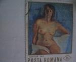 Sellos del Mundo : Europa : Rumania : iosif iser-nud
