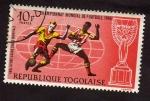 Sellos de Africa - Togo -  Campeonato Mundial futbol 1966