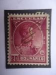 Sellos de America - Venezuela -  Simón Bolívar-Clásico de la serie ¨Escuelas¨-Venezuela