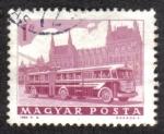 Sellos del Mundo : Europa : Hungría : Bus y el Parlamento