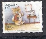 Sellos del Mundo : America : Colombia : Las Siete Vidas del Gato