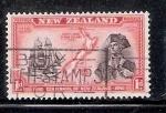 Sellos del Mundo : Oceania : Nueva_Zelanda : Cook redescubre Nva. Zelanda en 1769