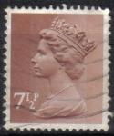 Sellos del Mundo : Europa : Reino_Unido : Reina Elizabeth II
