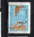 Sellos del Mundo : America : Argentina : Argentina contra la caza indiscriminada de ballenas