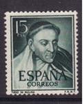 Sellos del Mundo : Europa : España : Tirso de Molina