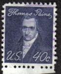 Sellos del Mundo : America : Estados_Unidos : Thomas Paine