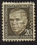 Sellos del Mundo : America : Estados_Unidos : George C. Marshall