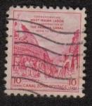 Sellos del Mundo : America : Estados_Unidos : Conmemorando Trabajo antillana en la construcción del Canal de Panamá 1904-1014