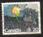 Sellos del Mundo : America : Canadá : Flor