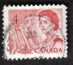 Sellos del Mundo : America : Canadá : Reina Elizabeth II