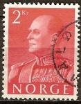 Sellos de Europa - Noruega -  Rey Olav V.